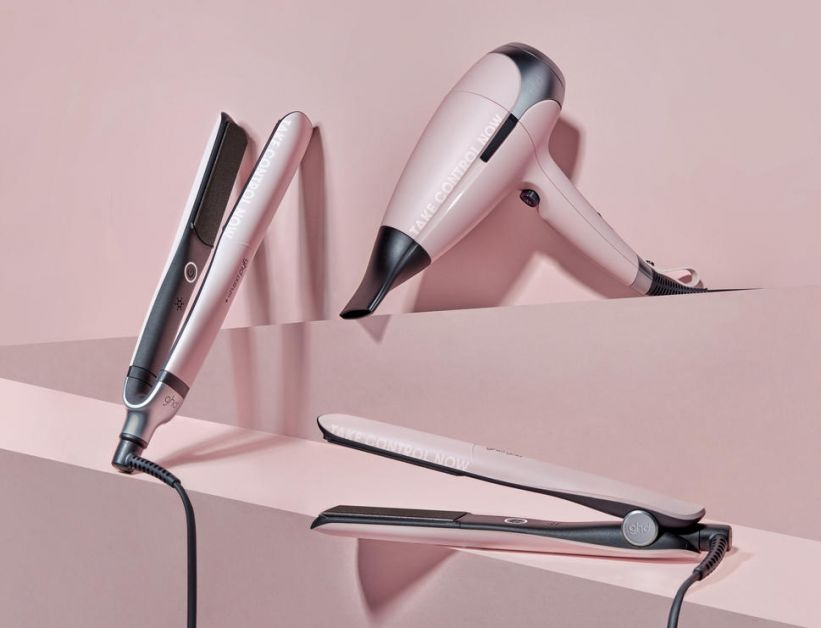 Pink collection ghd