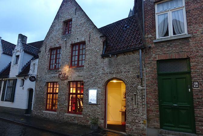 restaurant Réliva à Bruges