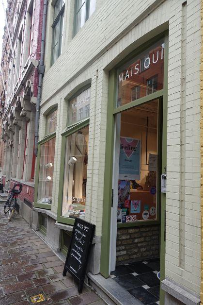 Mais Oui boutique à Bruges