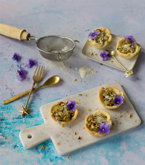 Tartelette aux poires confites de Potimanon