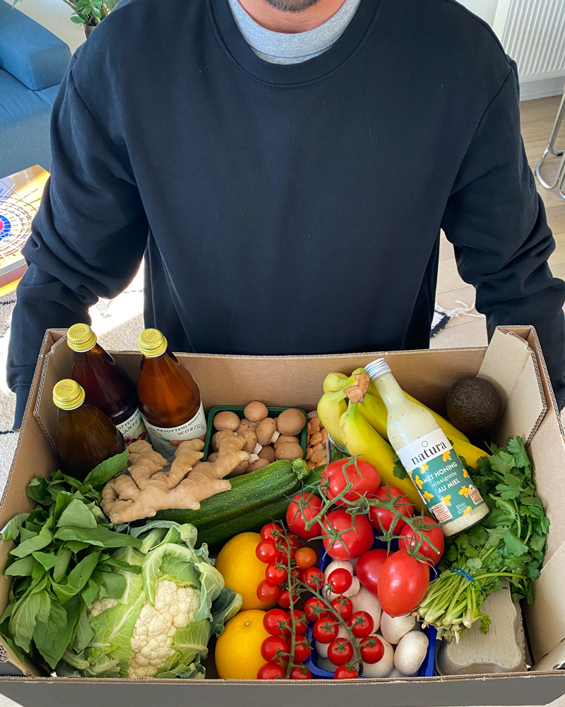 livraison healthy