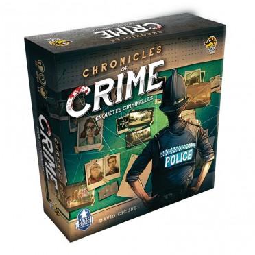 jeux de société Chronicles of crime