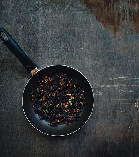 Un plat brulé