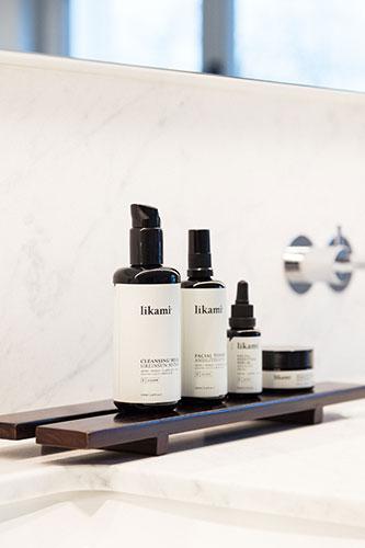 Sélection de produits cosmétiques Likami.