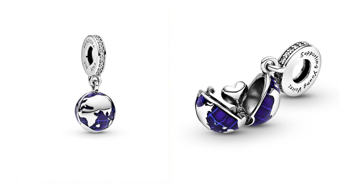 Pandora et unicef pendentif