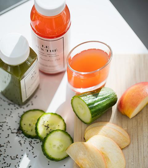 Les jus By Amandine Poli sont équilibrés, rafraichissants et riches en fibres. On les adopte pour un bon équilibre alimentaire.
