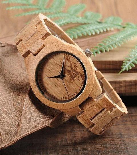 Montre en bois: un cadeau tendance et écologique