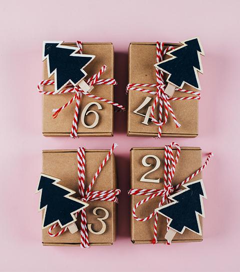 5 calendriers de l'Avent zéro déchet