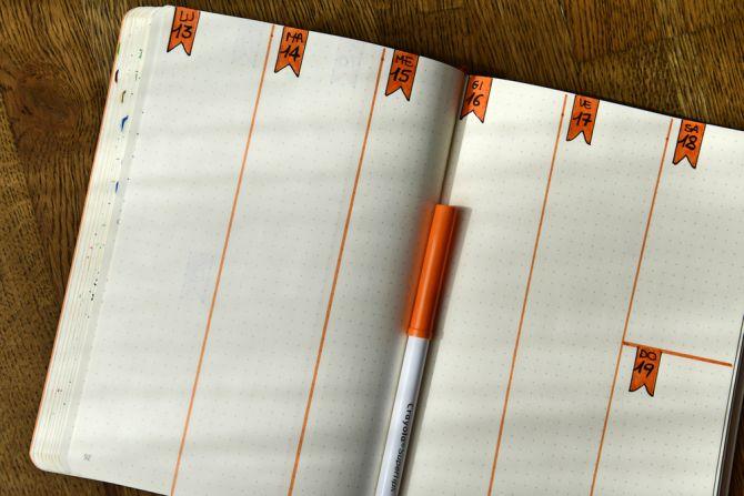Bullet Journal Log