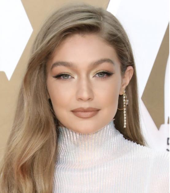Maquillages festifs de la star Gigi Hadid