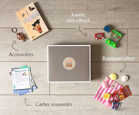 Nostalgift box