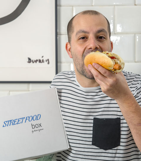 Un chef étoilé lance sa streetfood box