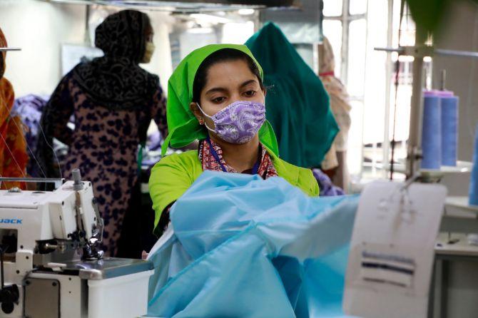 Lost Stock ouvrière textile bangladesh