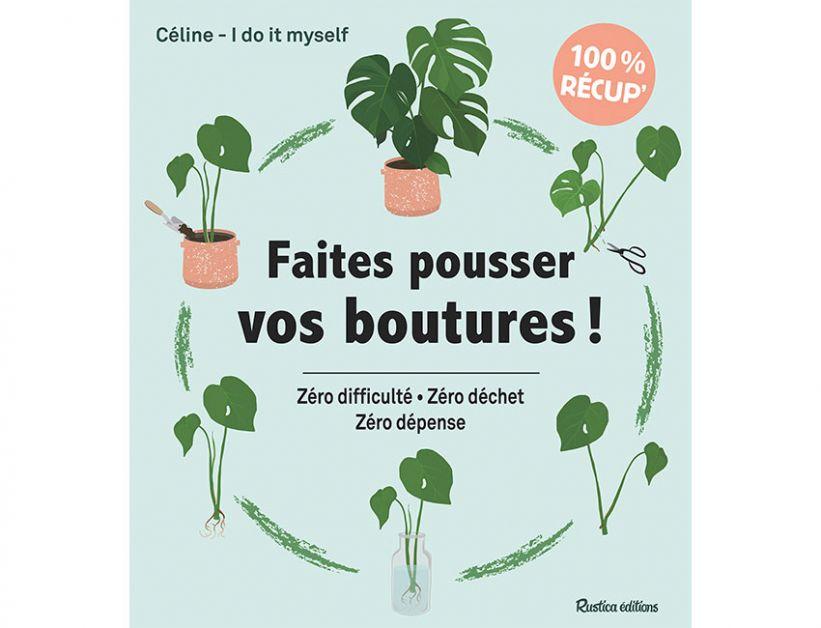 3 nouveaux livres DIY pour les fans de plantes et du zéro déchet - 1