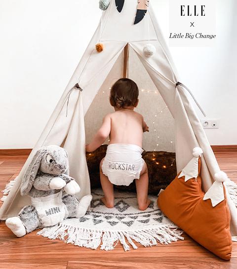 Remportez un mois de couches et produits de toilette pour prendre soin de bébé