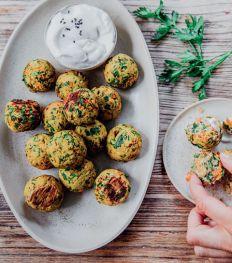 Une recette de boulettes aux légumes pour bébé