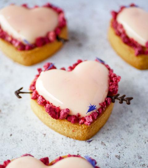 2 boxes pâtisserie à (s')offrir pour la Saint-Valentin