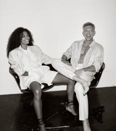 The Kooples x Tina Kunakey et Vincent Cassel : une campagne sous le signe de l'amour