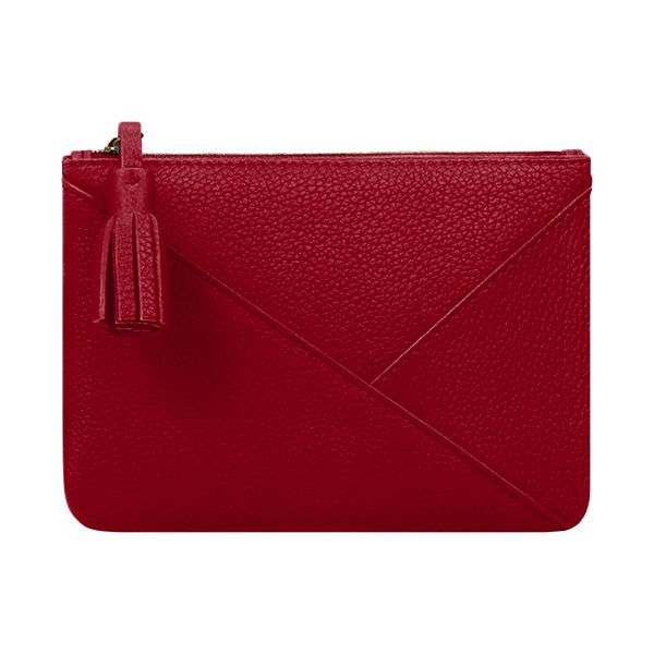 porte-monnaie rouge