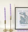 Twisted Candles : comment réaliser soi-même l'objet déco tendance du moment ?