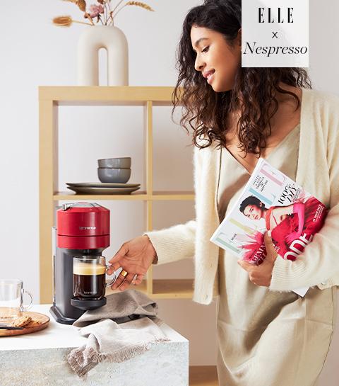 Une machine Nespresso à 1€ et le ELLE Belgique offert pendant un an avec votre abonnement café