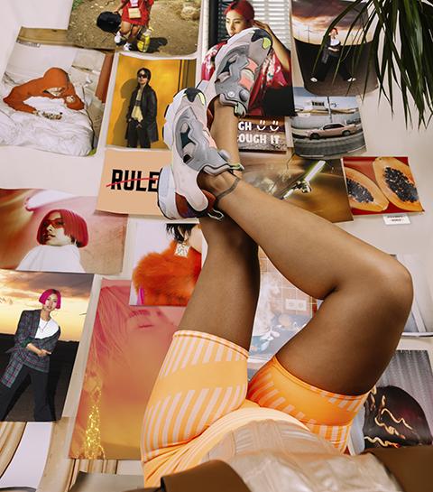 Reebok lance une collection de sneakers colorés à l'occasion du 8 mars