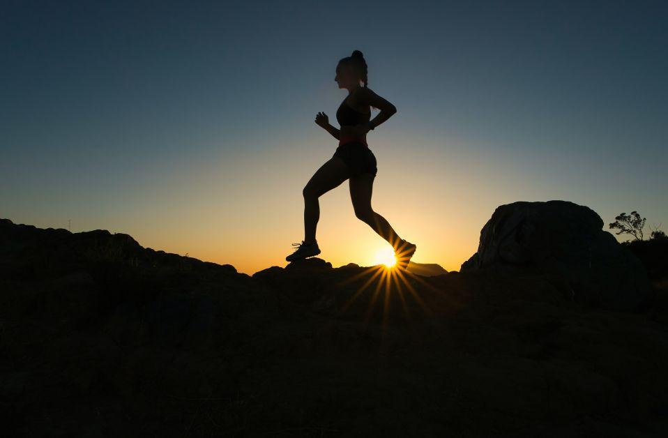 running stress