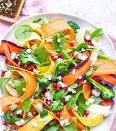 La salade de carottes et fruits de la passion d'Alia.rds