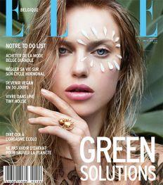 ELLE Belgique de mai-juin : green solutions