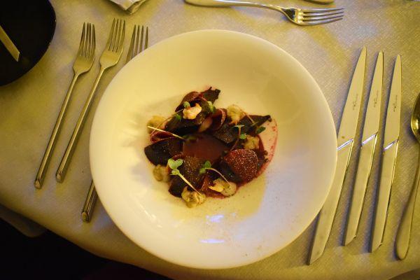 dîner gastronomique side by sight