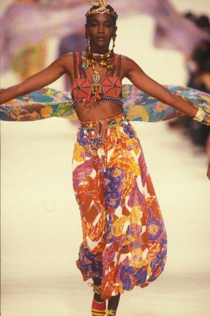 Collection Yves Saint Laurent printemps-été 1991, © Musée YSL / Guy Marineau