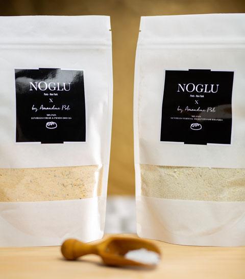 Mix pain sans gluten Noglu x Amandine Poli
