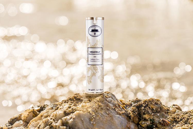 Hydra-Gold, la nouvelle ligne de cosmétiques des Thermes de Saint-Malo.