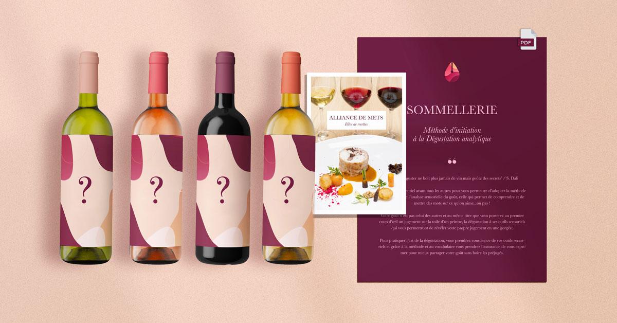 dégustation de vins tasting pack