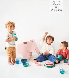 On aime la vaisselle smart pour bébés de Mepal