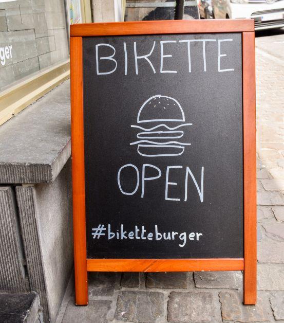 bikette burgers bruxelles