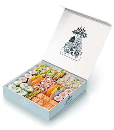 Sushi Shop : une invitation au voyage avec 6 boxes de sushis