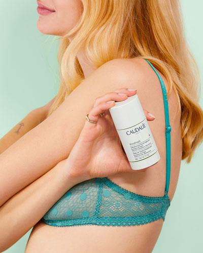Vinofresh est un déodorant vegan et naturel efficace pendant 24 heures.
