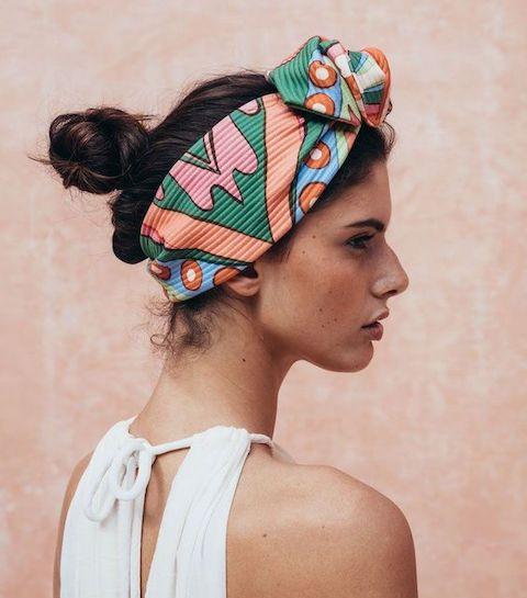 10 façons de porter le foulard ce printemps/été