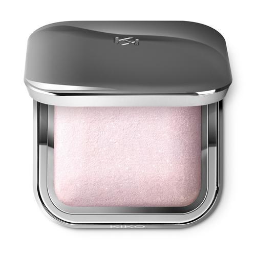 Le Glitter Baked Highlighter de Kiko Milano.