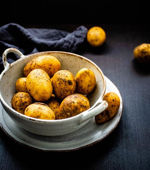 pomme de terre sans gluten