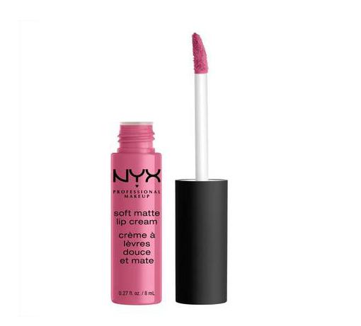 Le Soft Matte Lip Cream de Nyx Cosmetics.