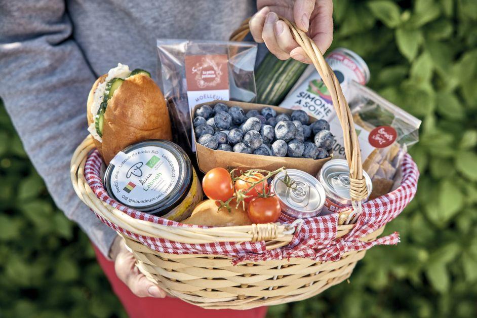 Panier gourmand bio et belge
