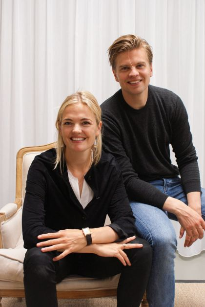 Floor van Rooy et Martijn van Rooy, fondateurs de Parfumado