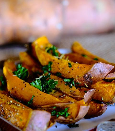patate douce sans gluten