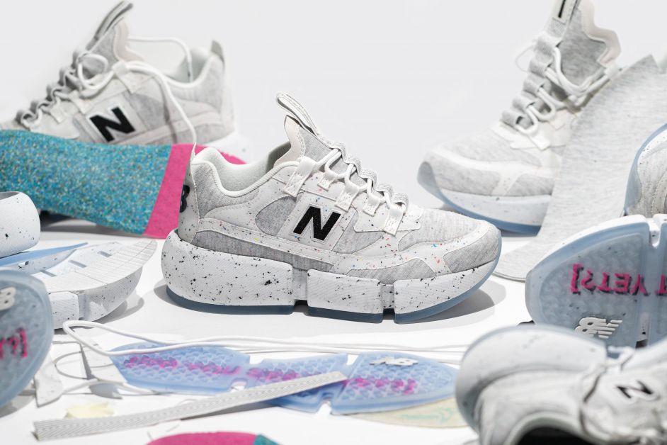 Collaboration de la nouvelle basket New Balance Vision Racer & Jaden Smith