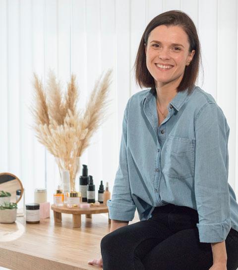 La fille du vendredi : Sarah Vandendriessche, fondatrice du super eshop Green Beauty Corner