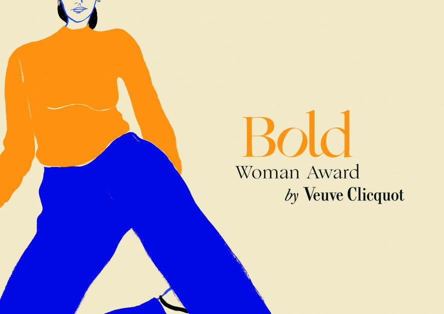 bold woman award by veuve clicquot