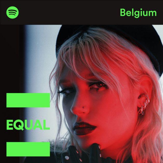 La Bruxelloise Charlotte Foret en cover de la playlist EQUAL Belgium