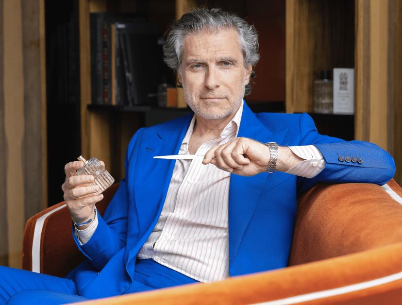 Jean-Pierre Marois, président et directeur artistique des Bains Guerbois